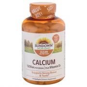 Sundown Naturals Calcium Plus Vitamin D3 Supplements