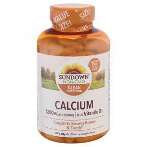 Sundown Naturals Calcium Plus Vitamin D3 Supplements