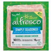 Al Fresco Simply Seasoned Ground Chicken