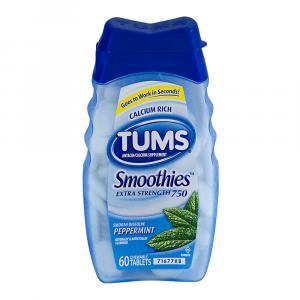 Tums Smoothies Peppermint
