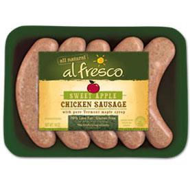 Al Fresco Sweet Apple Chicken Sausage