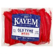 Kayem Natural Casing Red Franks
