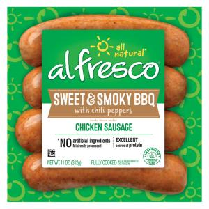 Al Fresco Sweet & Smoky BBQ Fully Cooked Chicken Sausage