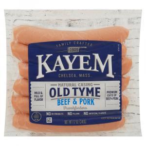 Kayem Natural Casing Franks