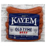 Kayem Natural Casing Beef Franks