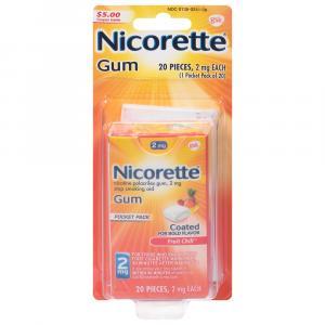 Nicorette 2mg Fruit Chill Gum