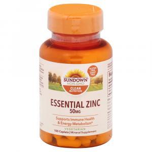 Sundown Naturals Zinc 50 mg