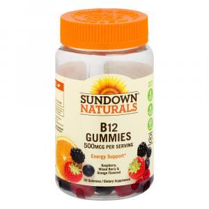 Sundown Naturals B12 500mg Gummies