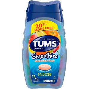Tums Smoothies Assorted Fruit Bonus