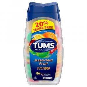 Tums Ultra Strength Assorted Fruit Bonus