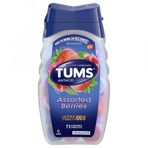 Tums Ultra 1000 Assorted Berry Chewable Antacid Tablets