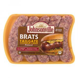 Johnsonville Tailgate Cheddar Beer Bratwurst