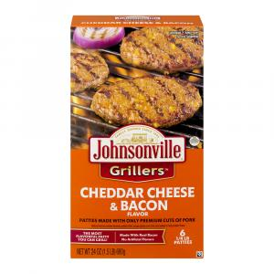 Cheddar Cheese With Real Bacon Griller