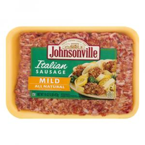 Johnsonville Ground Medium Italian Sausage