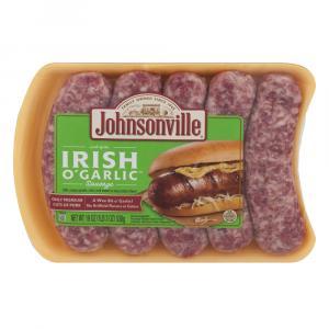 Johnsonville Irish O' Garlic Sausage