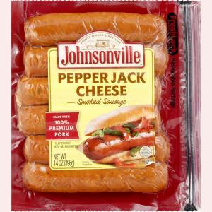 Johnsonville PepperJack Cheese Smoked Sausage