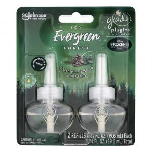Glade Icy Evergreen Forest PlugIns Scented Oil Refills