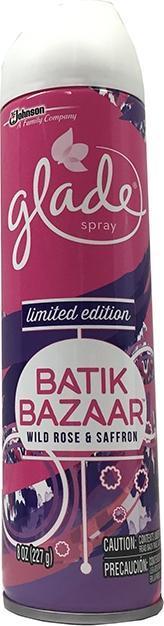 Glade Batik Bazaar Wild Rose & Saffron Spray