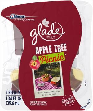 Glade PlugIns Scented Oil Refill Apple Tree Picnic