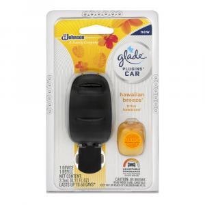 Glade Car Hawaiian Breeze Starter Kit & Refill