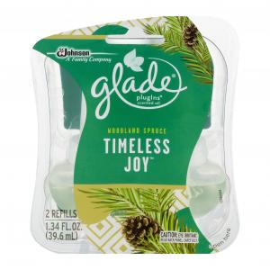 Glade Timeless Joy Plugins Scented Oil Refills