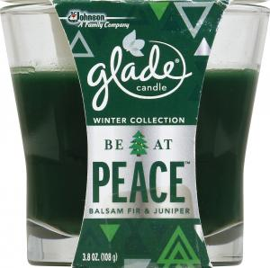Glade Be At Peace Candle