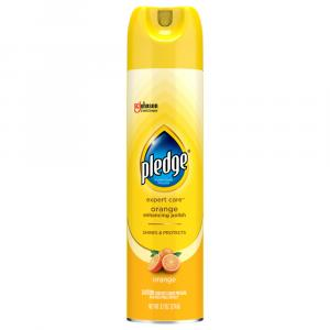 Pledge Orange Clean Furniture Spray