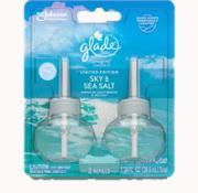 Glade Scented Oil PlugIns Sky & Sea Salt Refills