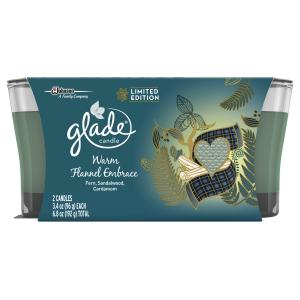 Glade Warm Flannel Candles