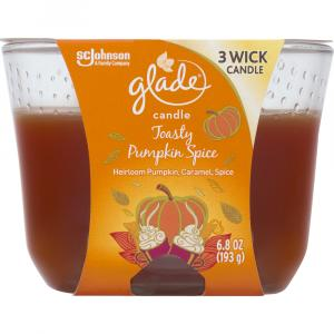 Glade Toasty Pumpkin Spice Candle