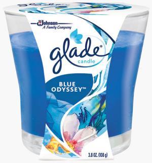 Glade Blue Odyssey Candle Jar