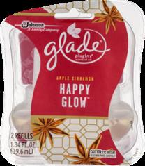 Glade Happy Glow Plugins Scented Oil Refills