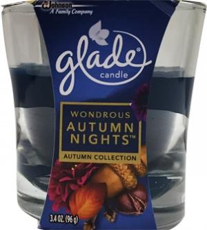 Glade Wondrous Autumn Nights Candle