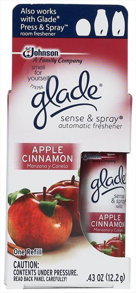 Glade Sense & Spray Apple Cinnamon Refill
