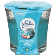 Glade Aqua Wave Candle Jar