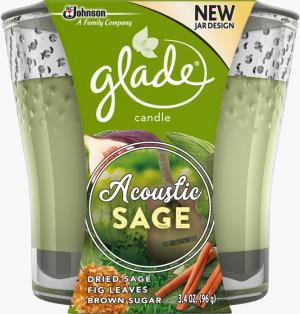 Glade Acoustic Sage Candle