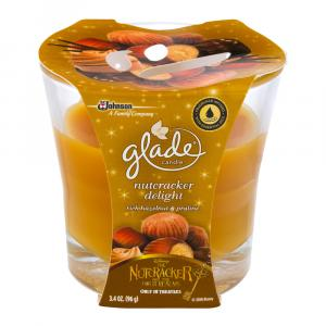Glade Candle Nutcracker Delight