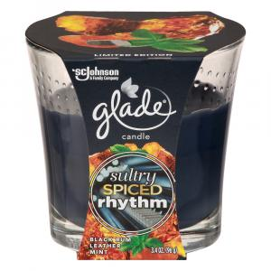 Glade Sultry Spiced Rhythm Candle