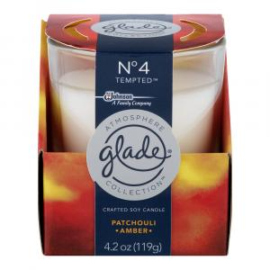 Glade No4 Patchouli Amber Candle