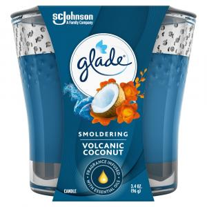 Glade Volcanic Coconut Candle Jar
