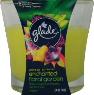 Glade Limited Edition Enchanted Floral Garden Candle