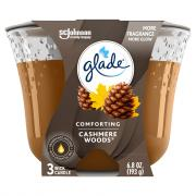 Glade 3 Wick Cashmere Candle