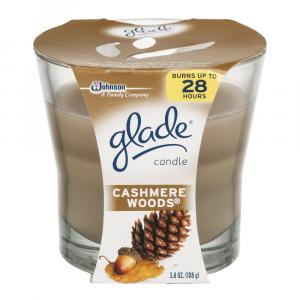 Glade Candle Cashmere Woods