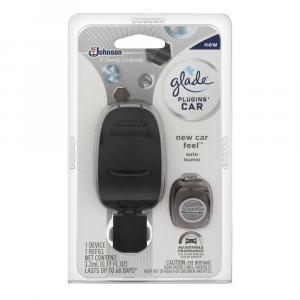 Glade Car Plug-in New Car Feel & Refill