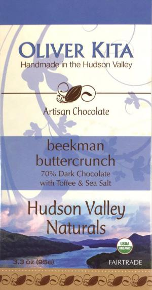 Oliver Kita Organic Beekman Buttercrunch Candy Bar