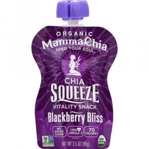 Mamma Chia Blackberry Bliss Squeeze Pouch