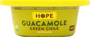 Hope Organic Green Chile Guacamole