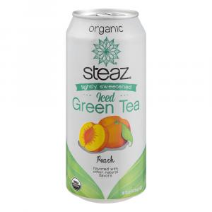 Steaz Organic Green Tea Peach