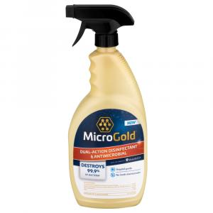 MicroGold Dual-Action Disinfectant & Antimicrobial