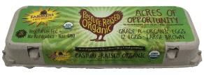The Farmer's Hen Pasture Raised Grade A Large Brown Eggs